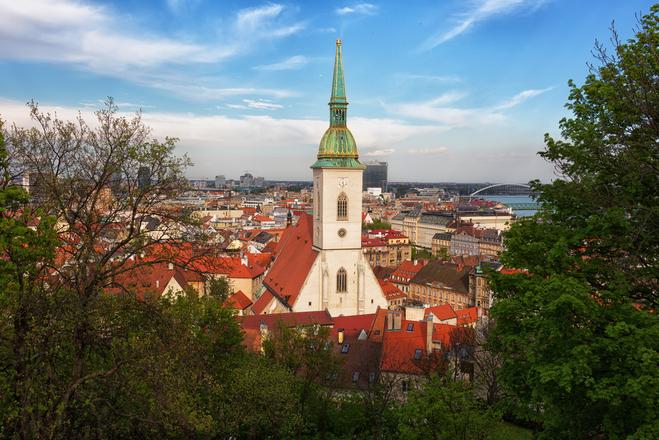 Братислава за 24 години
