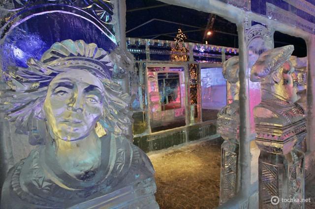 Фестиваль ледяных скульптур в Брюгге