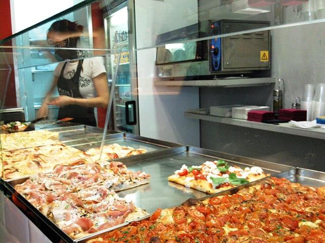 Цікаві місця Риму: Pizza a taglio