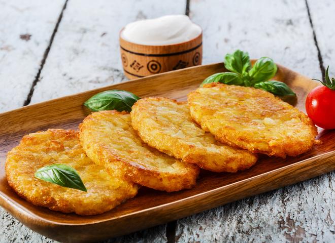 Драники из картошки: фото