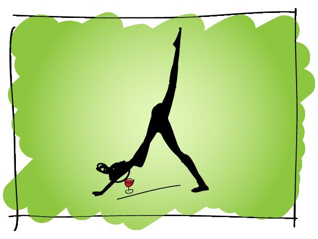 Йога та вино