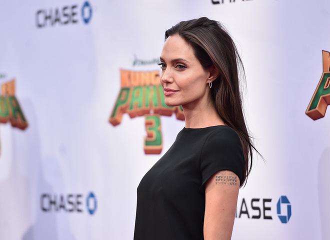 Михаил Галустян и Анджелина Джоли