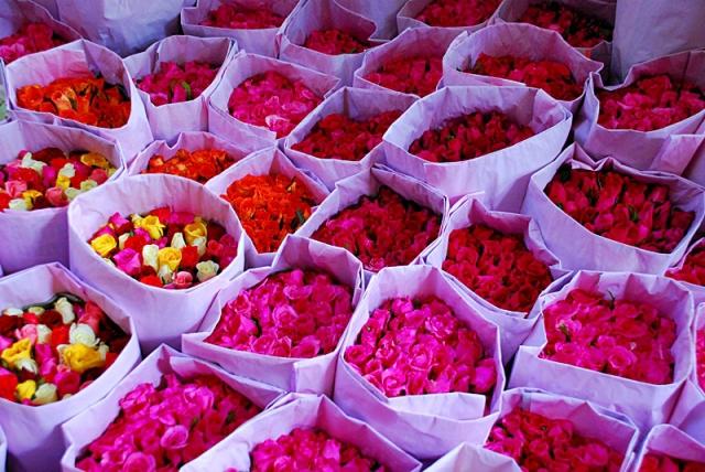Цікаві місця Бангкока: квітковий ринок Пак Кхлонг