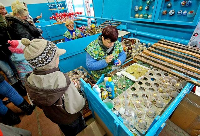Фабрика ялинкових іграшок
