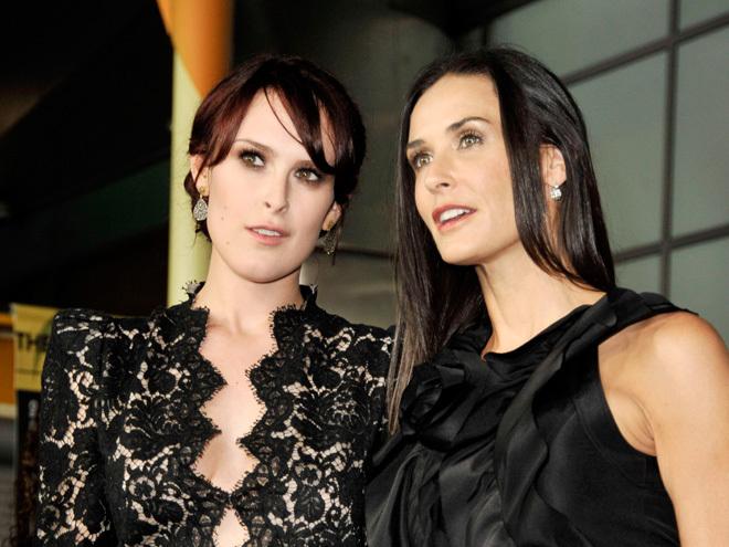 Демі Мур і її дочка – акторка й модель Румор Вілліс