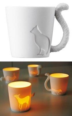 Хвостатые чашки для любителей котэ