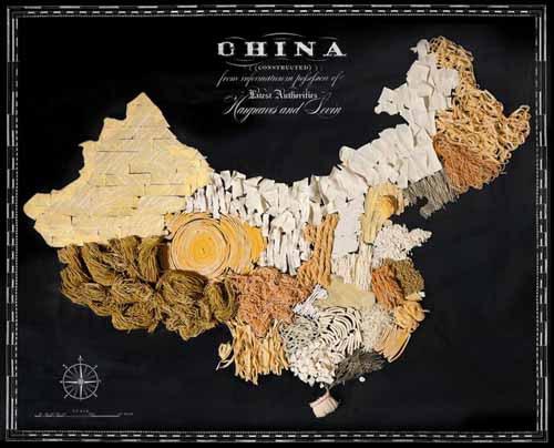 """Вкусная подборка """"Аппетитные страны на съедобной карте мира"""""""