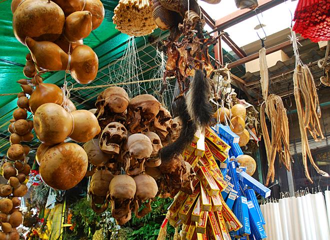 Ринок шаманів і чаклунів в Мехіко