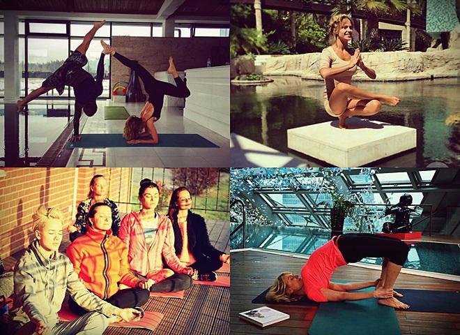 Йога - як образ зіркового життя