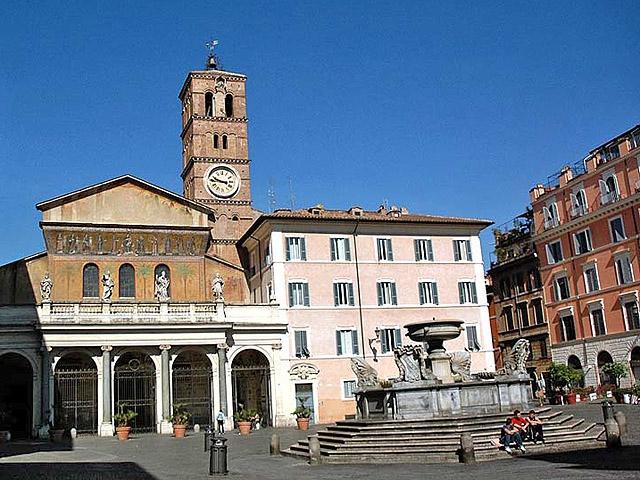 Цікаві місця Риму: Церква Санта Марія ін Трастевере