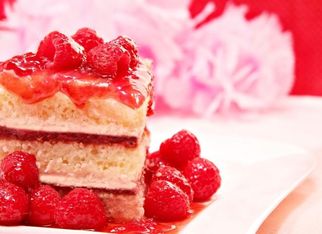 десерт на Валентина