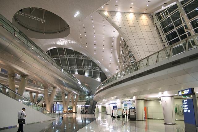 Самые лучшие аэропорты мира - Incheon International Airport