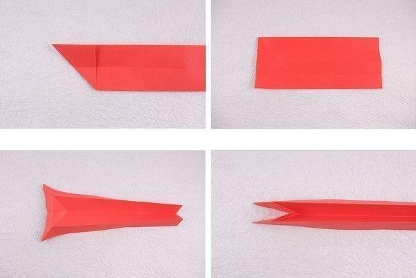Влюбленные котики в стиле оригами