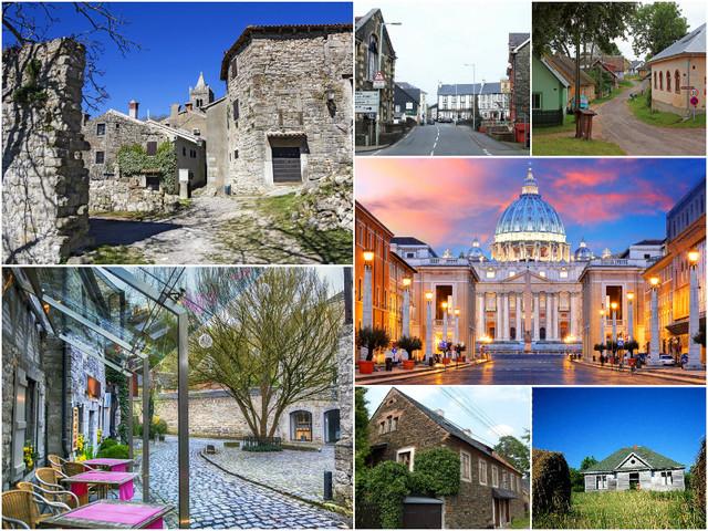 Топ-7 самых маленьких городов мира