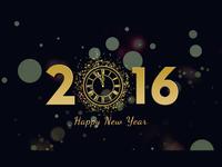 Красивые обои на Новый год 2016