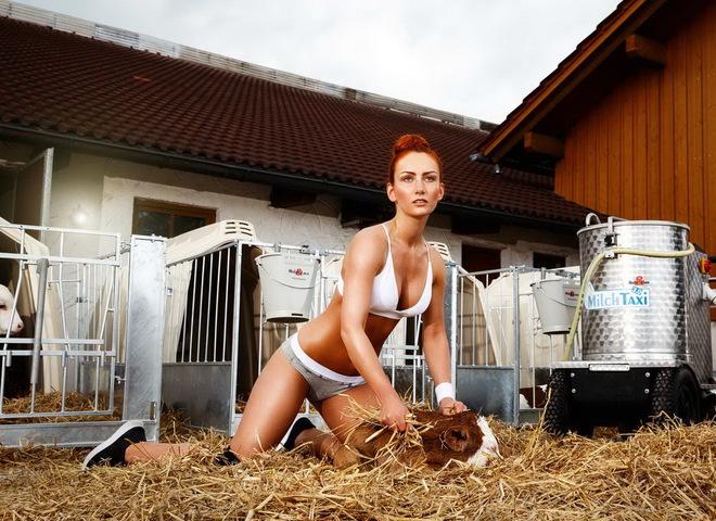 Сексуальные крестьянки: жены австрийских фермеров снялись для эротического календаря