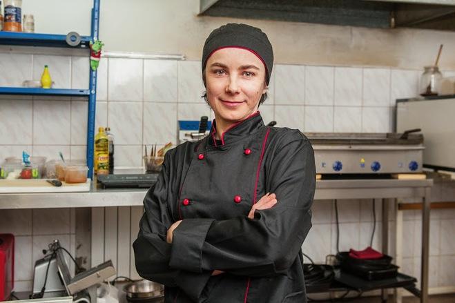 Ирина Долюк, шеф-повар, Тако с курицей и свининой