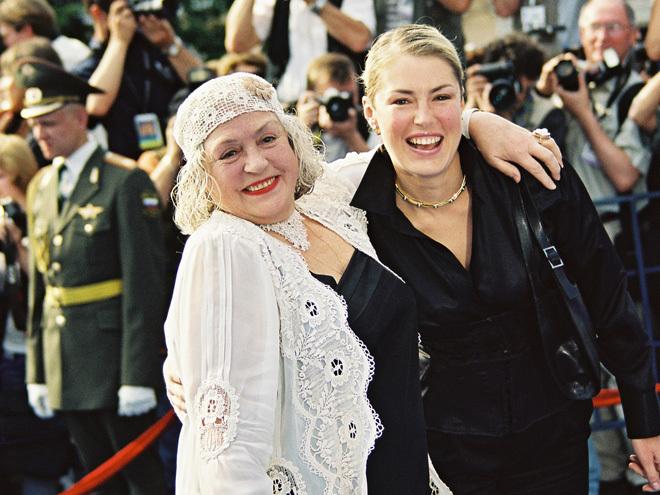 Лідія Федосєєва-Шукшина і її дочка – акторка Марія Шукшина