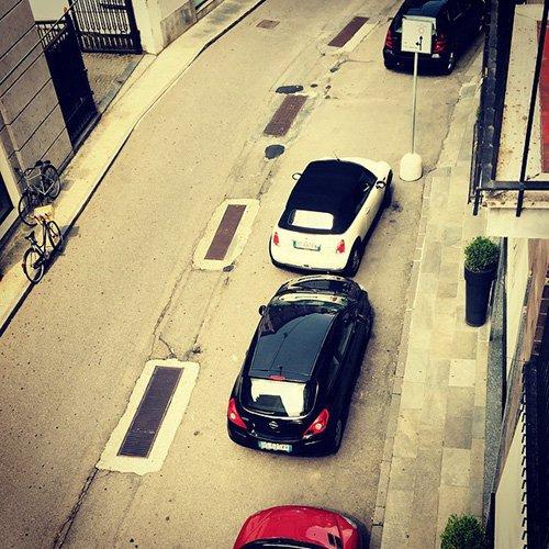 Я паркуюсь как дурак