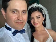 Ахтем Сеитаблаев со старшей дочерью Назлы