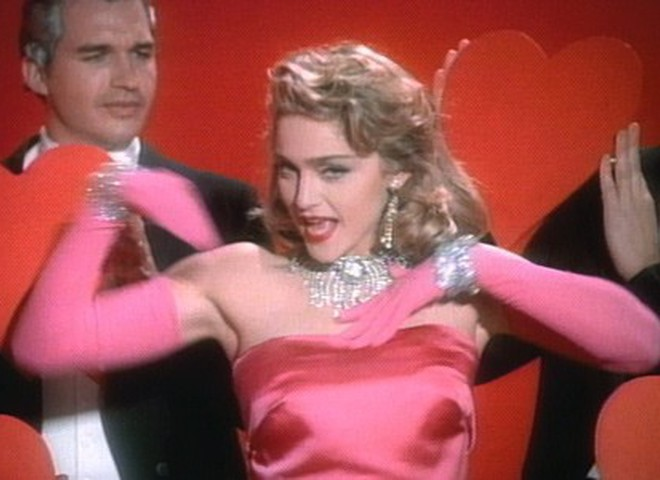 Платье Мадонны выставлено на аукцион