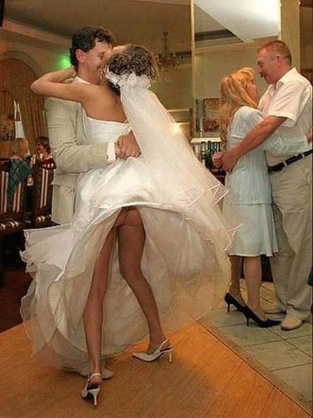 Этот неловкий момент на свадьбе