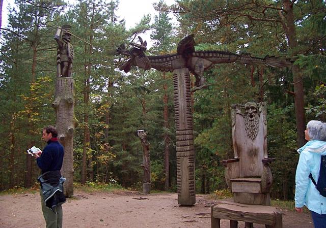 Достопримечательности Литвы: Гора ведьм Шяуляй