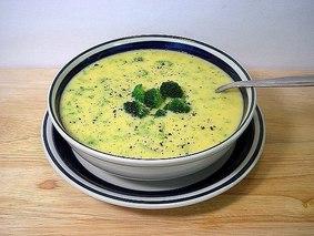 Низкокалорийный «Сырный суп»