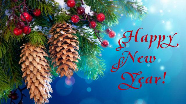 Нежные открытки с Новым годом!