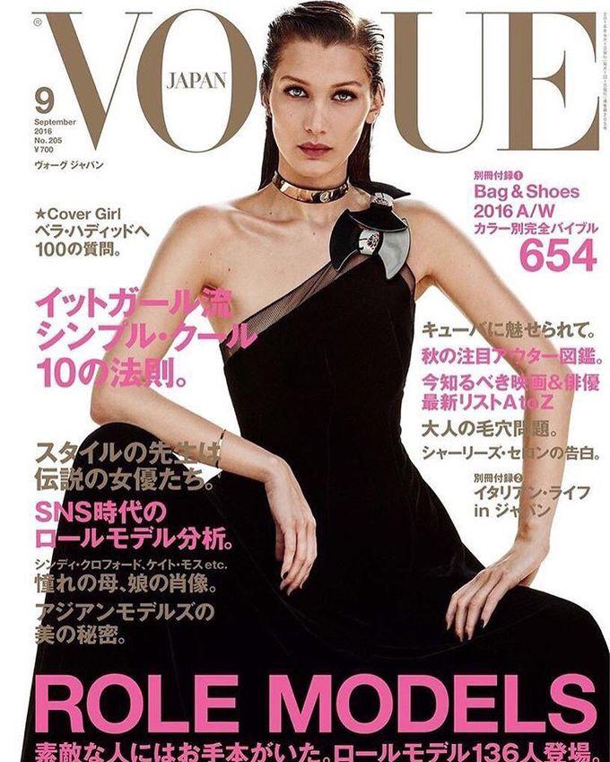 Белла Хадид на обложке Vogue Japan