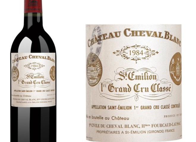 Вина Chateau Cheval Blanc виставлені на аукціон