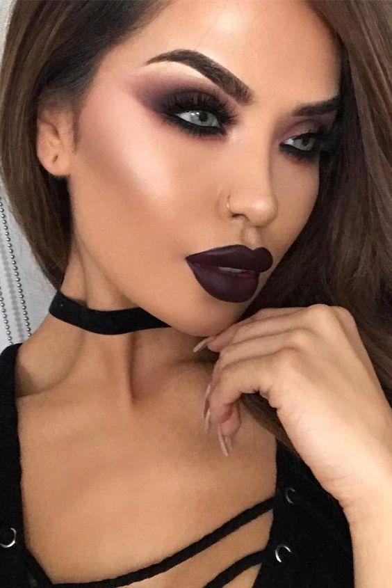 хозяева фото макияжа для карих глаз на хэллоуин вируса нигде нет