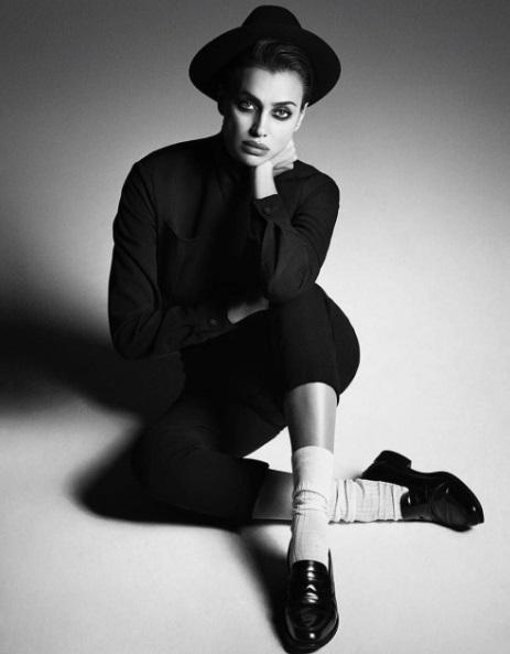 Ирина Шейк для Vogue Russia