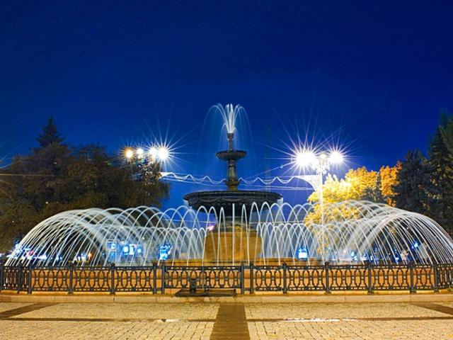 Точное время в Донецке