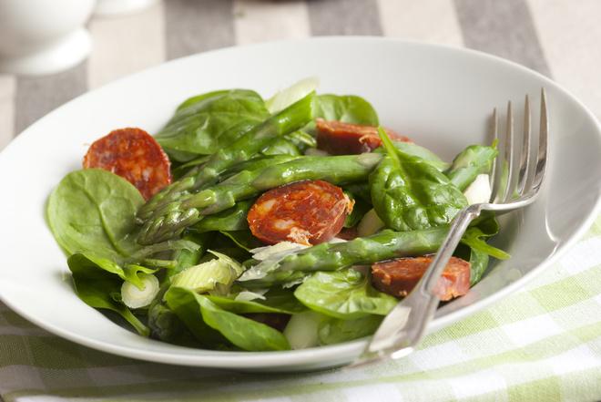 Спаржа: рецепти, салат