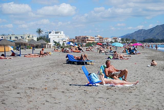 Нудистские пляжи Испании: Playa de Vera, Коста де Альмерия, Андалусия