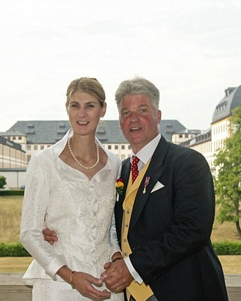 німецька принцеса вперше вийшла заміж