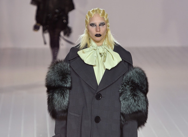 Леді Гага на показі Marc Jacobs