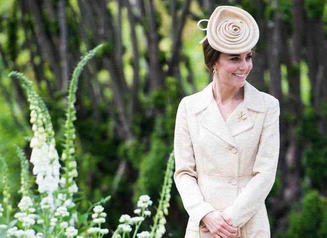 Кейт Міддлтон на прийомі в саду замку Хіллсборо 2016