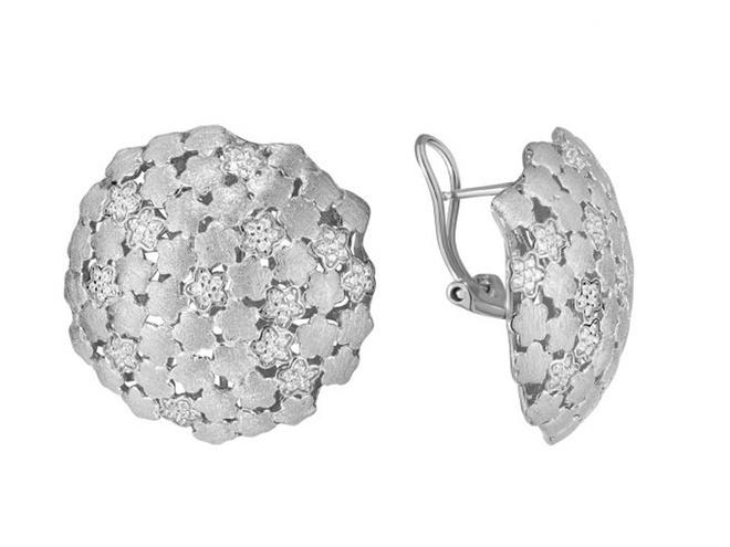 Серебряные серьги ZARINA