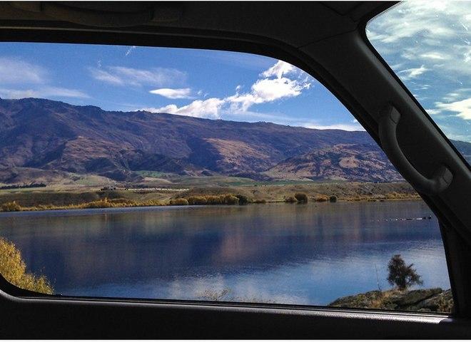 Дивовижні пейзажі Нової Зеландії з вікна фургону