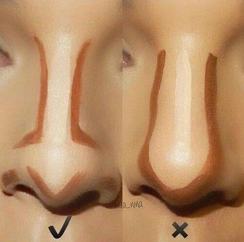 Как уменьшить нос