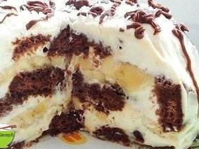 Это просто неописуемо вкусный тортик! Всем советую!