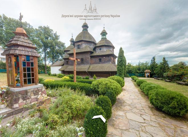 3D-подорож по Україні: віртуальне знайомство з унікальними дерев'яними храмами Карпат