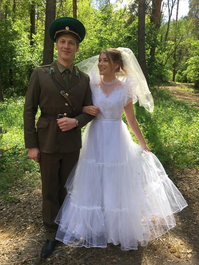 Валентин Томусяк і Катерина Тишкевич.