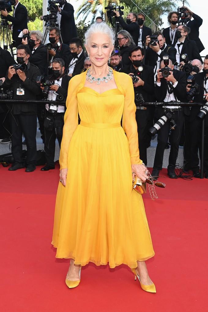 Хелен Міррен на Каннському кінофестивалі 2021