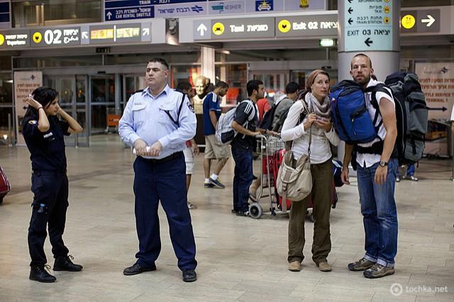 Розмовник туриста в Ізраїлі: аеропорт