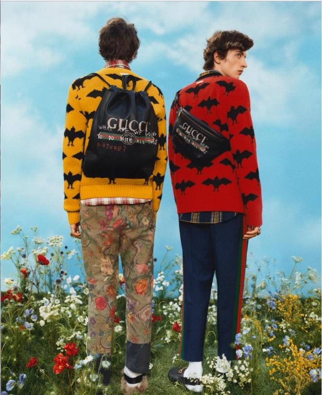 Gucci розписали одяг маркерами
