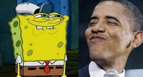 Губка Обама