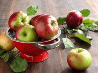 Вкусные яблоки